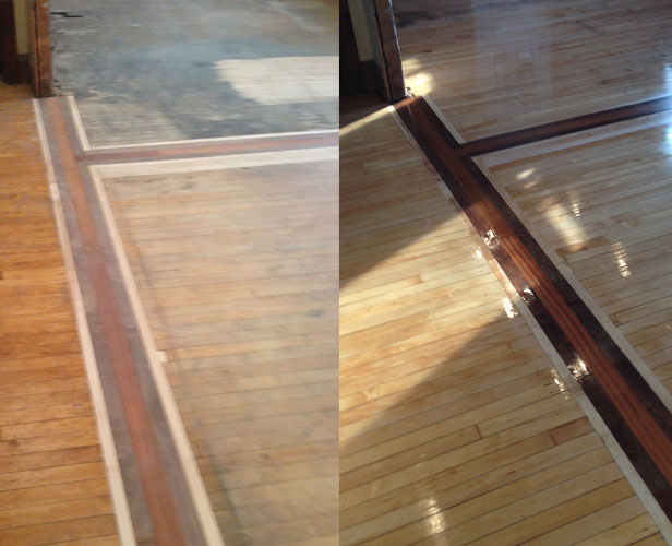Flooring services dave 39 s hardwood floor refinishing for Resurfacing wood floors