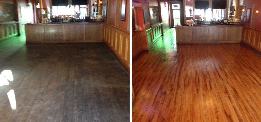 4 Best Hardwood Floor Refinishing Services Detroit MI Costs Source · Before  U0026 After Photos